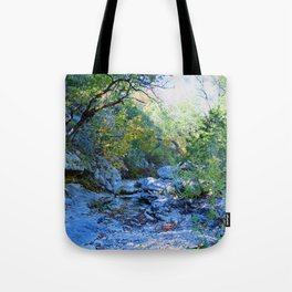 Lost Maples Park Tote Bag