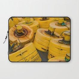 Yellow gathering Laptop Sleeve