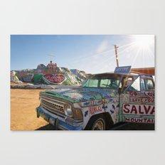 Salvation Mountain Canvas Print