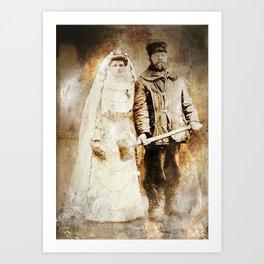 Uncle Erno's Wedding Art Print