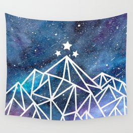 Watercolor galaxy Night Court - ACOTAR inspired Wall Tapestry