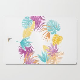Tropical Leafs Cutting Board