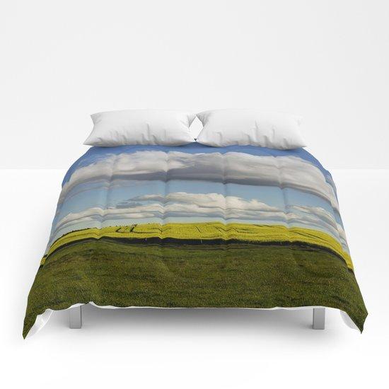 Spring-Landscape Comforters