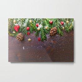 Christmas #society6 #decor #buyart Metal Print
