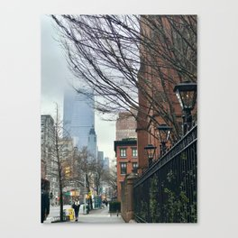 Along The Highline Canvas Print