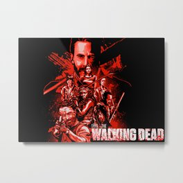 The Walking Dead Poster Metal Print