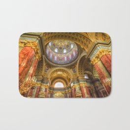 St Stephen's Cathedral Budapest Bath Mat