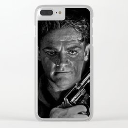 James Cagney - © Doc Braham; All Rights Reserved. Clear iPhone Case