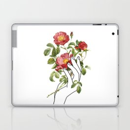 Flower in the Hand II Laptop & iPad Skin