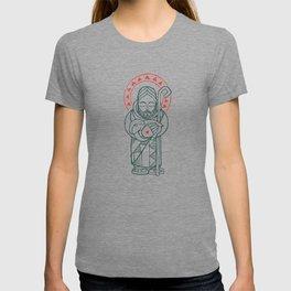 Jesus Chris Good Shepherd illustration T-shirt