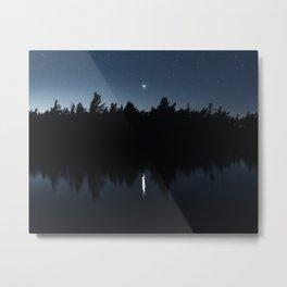 Venusian Lake Metal Print