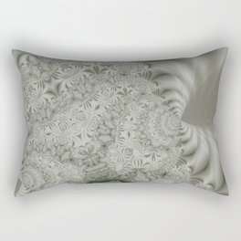 Cauliflower Fractal Lines Pattern Rectangular Pillow