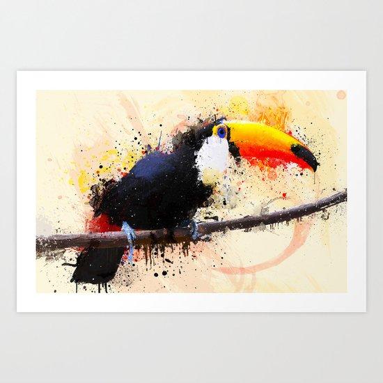Tucano Art Print