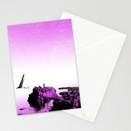 Crash on the Horizon Stationery Cards