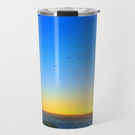 Sunset flight Travel Mug