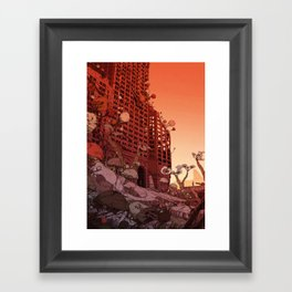 Old Earth Framed Art Print