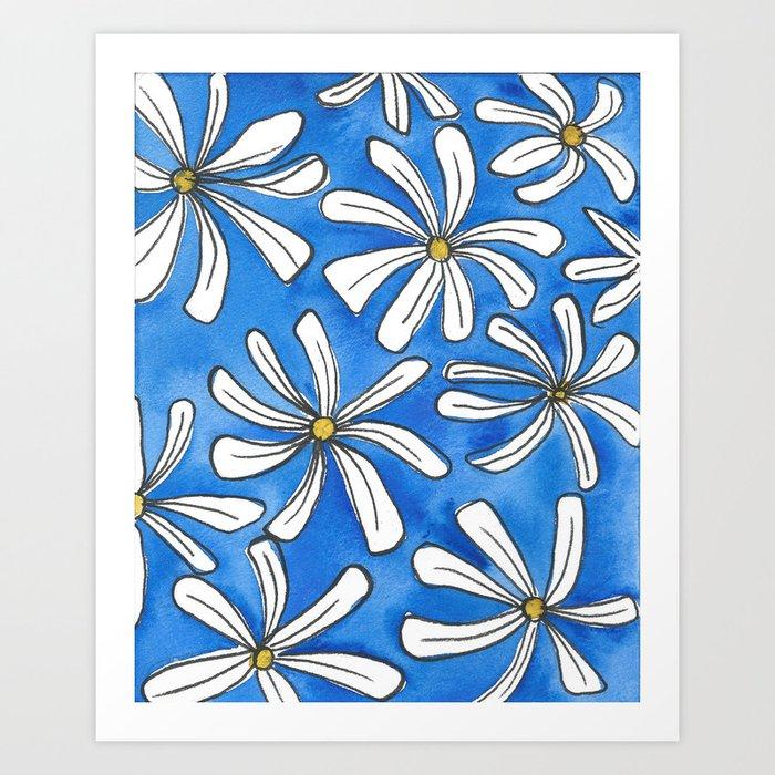 Daisies Art Print