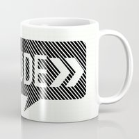 the dude Mugs featuring Dude* by Mr & Mrs Quirynen
