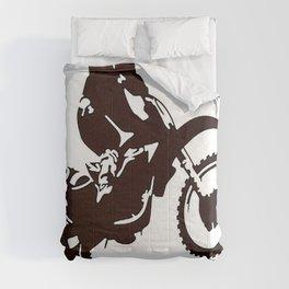 Motor X Silhouette Comforters