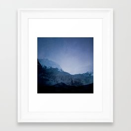Good Evening, Ghosts Framed Art Print