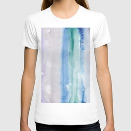 13    190907   Watercolor Abstract Painting T-shirt