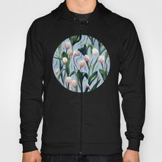 Waiting on the Blooming - a Tulip Pattern Hoody