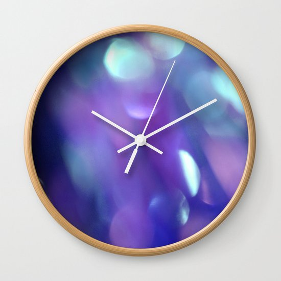Soft focus Wall Clock