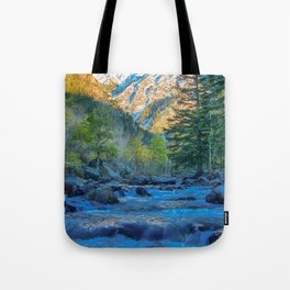 River Bed Sunrise // Long Exposure Landscape Photograph in the Colorado Rocky Mountains Tote Bag