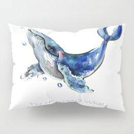 Whale Artowrk, Humpback Whale Pillow Sham