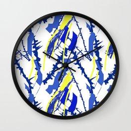 Beautiful Blue III Wall Clock