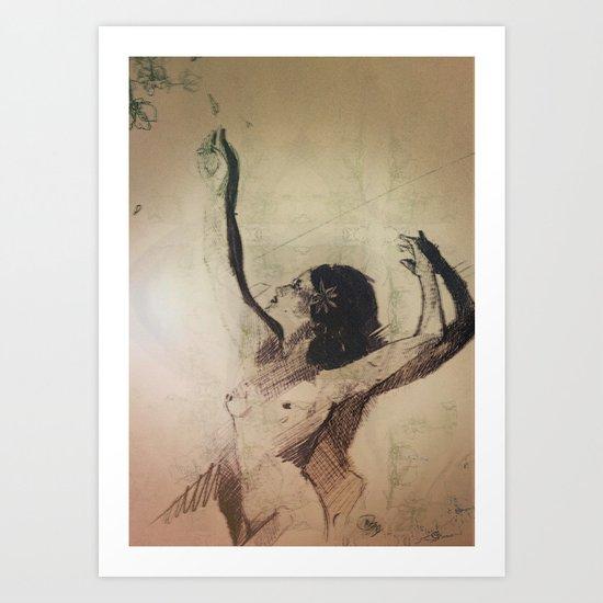 Wildest Moments  Art Print