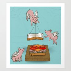 Make Me A Sandwich Art Print