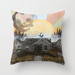 Humboldt Burrows: The Brae Throw Pillow
