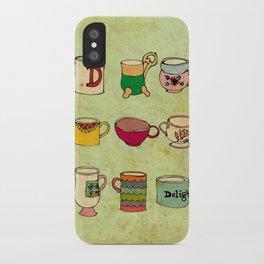 My Mugs! iPhone Case