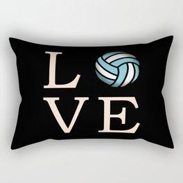 Volleyball love Rectangular Pillow