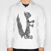 greg guillemin Hoodies featuring Squirrel by Greg Phillips by SquirrelSix