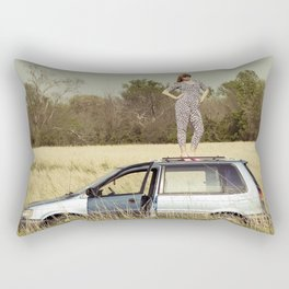 Urban Safari Rectangular Pillow
