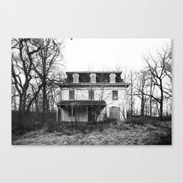 Jordan Park House Canvas Print