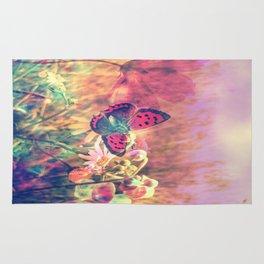 Butterfly in a Wonderworld Rug