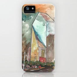 The Fountain Place iPhone Case