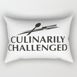 Culinarily Challenge Rectangular Pillow