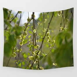 Having a Green Moment Wall Tapestry