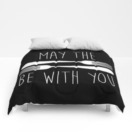 May The Forks Be With You Comforters