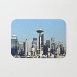 Seattle Skyline Bath Mat