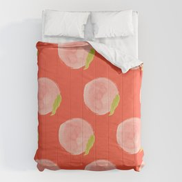 You're a Peach Watercolor Painting Comforters