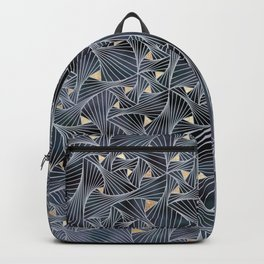 Reverie (in Grey and Gold) Backpack