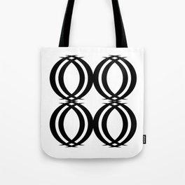 Oval Links Tote Bag