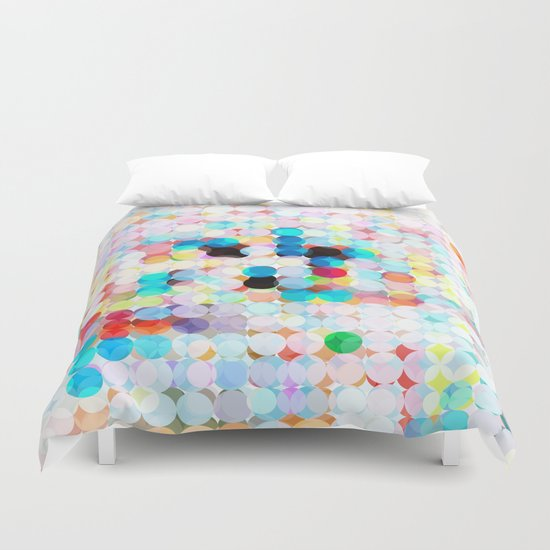 dot transparency Duvet Cover