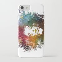 lion king iPhone & iPod Cases featuring Lion King by jbjart