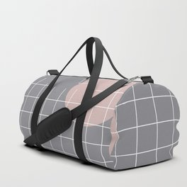 Neutral Gray #abstract #fall #color Duffle Bag